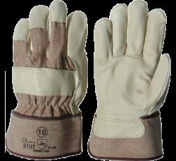 3107 -  Rindsnarbenleder Handschuh