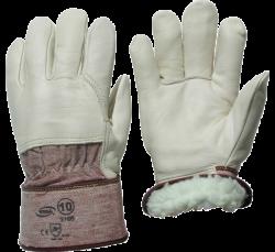 3106 -   Winter Handschuh - Rindsnarbenleder