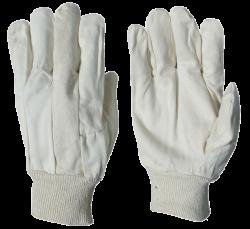 3351 -  Baumwoll-Stoff Handschuh