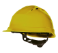 """4006 - Schutzhelm """"Quarz IV"""" gelb"""