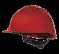 """4006 - Schutzhelm """"Quarz IV"""" rot"""