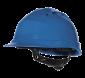 "4006 - Schutzhelm ""Quarz IV"" blau"