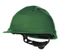 """4006 - Schutzhelm """"Quarz IV"""" grün"""